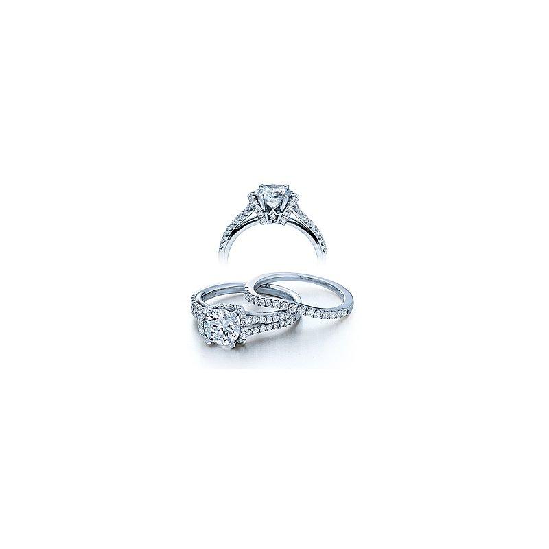 Verragio Verragio Couture 0376 - 18k White Gold Diamond Engagement Ring by Verragio