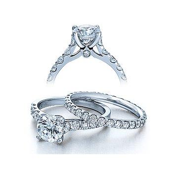 Verragio Couture 0362 - Verragio Diamond Engagement Ring in 18k White Gold