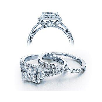 Verragio Couture 0381P-PLT - Platinum Diamond Engagement Ring by Verragio