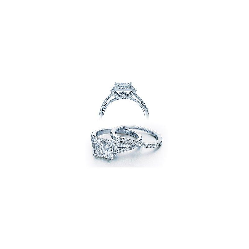 Verragio Verragio Couture 0381P-PLT - Platinum Diamond Engagement Ring by Verragio