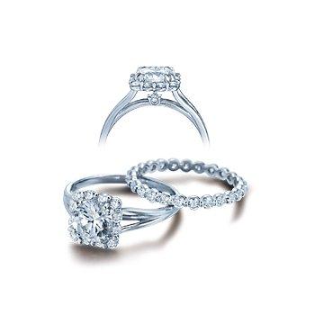 Verragio Classico-0363 - 14k White Gold Diamond Engagement Ring by Verragio
