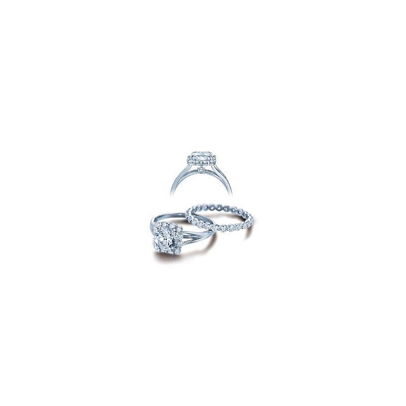 Verragio Verragio Classico-0363 - 14k White Gold Diamond Engagement Ring by Verragio