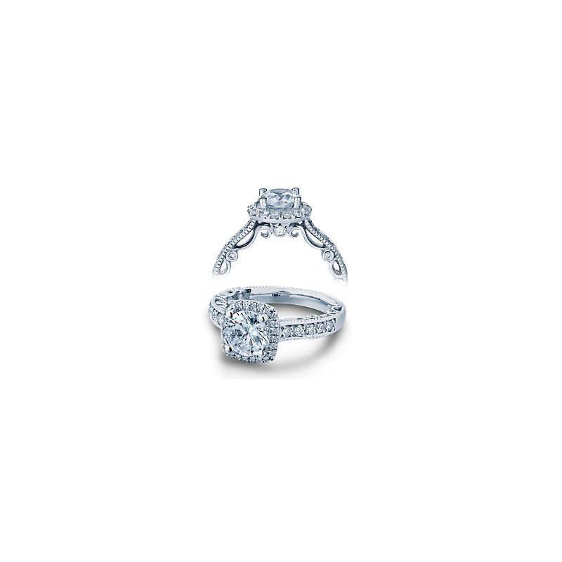 Verragio Verragio Paradiso-3077CU - 14k White Gold Diamond Engagement Ring by Verragio