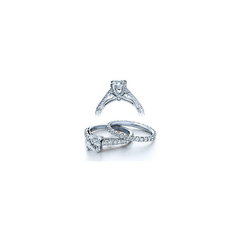 Verragio Verragio Couture 0388D - 18k White Gold Diamond Engagement Ring by Verragio