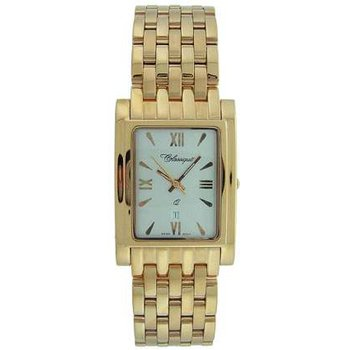 Classique Gents Stainless Steel Gold Plated Swiss Quartz Watch - #28/83AG