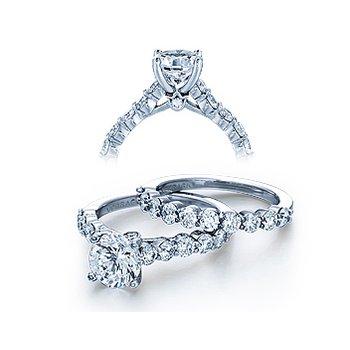Verragio Couture 0410MR - 18k White Gold Diamond Engagement Ring by Verragio