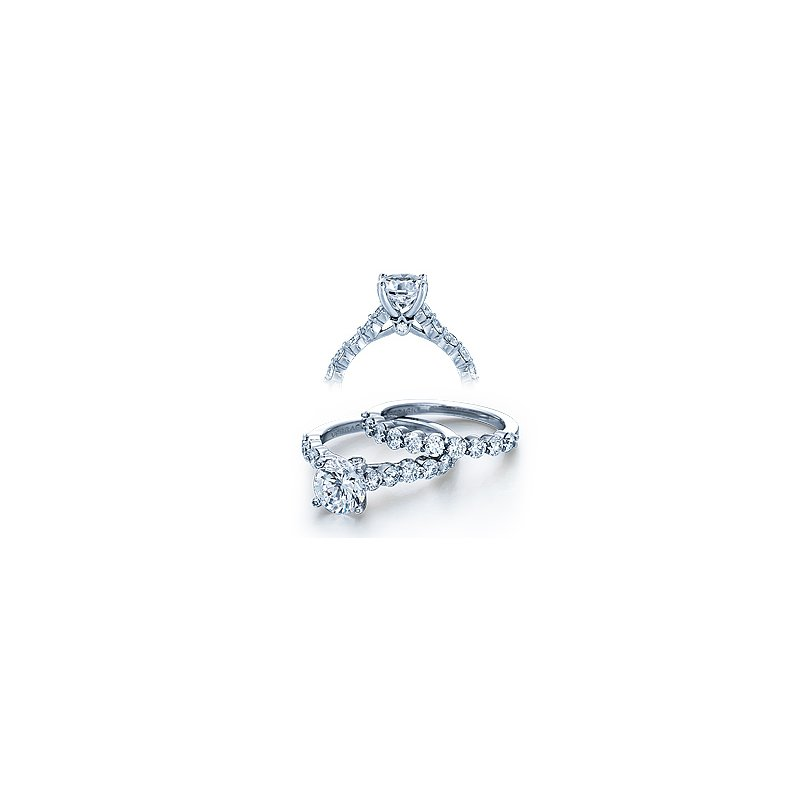 Verragio Verragio Couture 0410MR - 18k White Gold Diamond Engagement Ring by Verragio