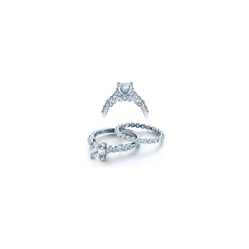 Verragio Verragio Insignia 7034 - 18k White Gold Diamond Engagement Ring by Verragio