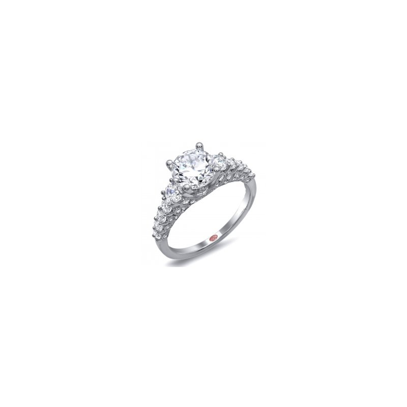 Demarco Demarco DW4613 - 18k White Gold Engagement Ring by Demarco