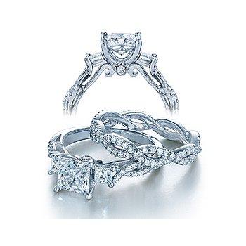 Verragio Insignia-7055P - 14k White Gold Diamond Engagement Ring by Verragio