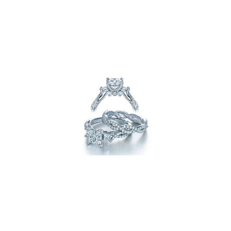 Verragio Verragio Insignia-7055P - 14k White Gold Diamond Engagement Ring by Verragio