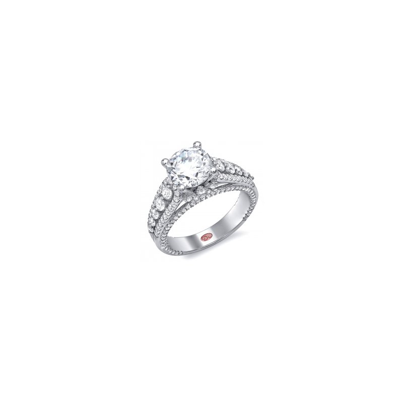 Demarco Demarco DW4967 - 18k White Gold Engagement Ring by Demarco