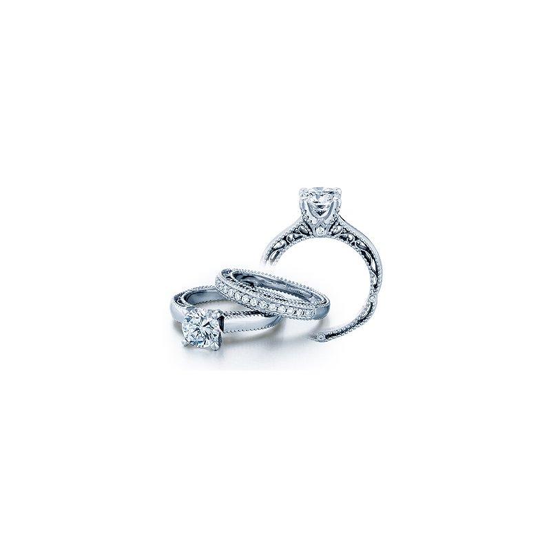 Verragio Verragio Venetian 5012 - 18k White Gold Diamond Engagement Ring by Verragio