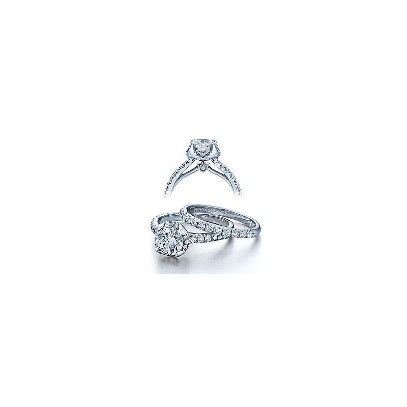 Verragio Verragio Couture 0377 - 18k White Gold Diamond Engagement Ring by Verragio