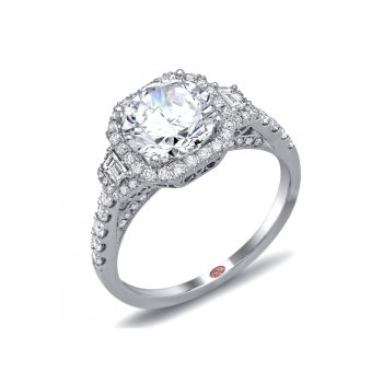 Demarco DW6031 - 18k White Gold Engagement Ring by Demarco