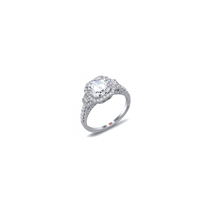 Demarco Demarco DW6031 - 18k White Gold Engagement Ring by Demarco