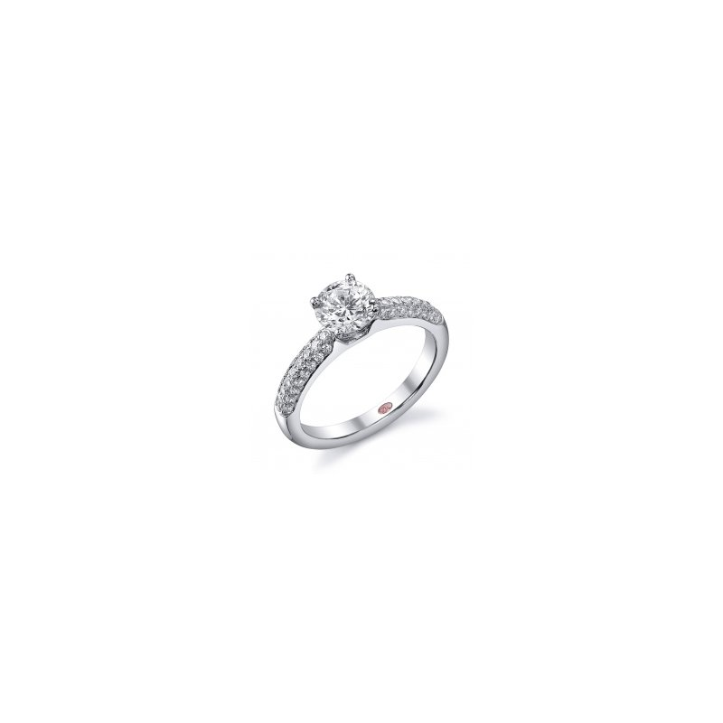 Demarco Demarco DW4619 - 18k White Gold Engagement Ring by Demarco