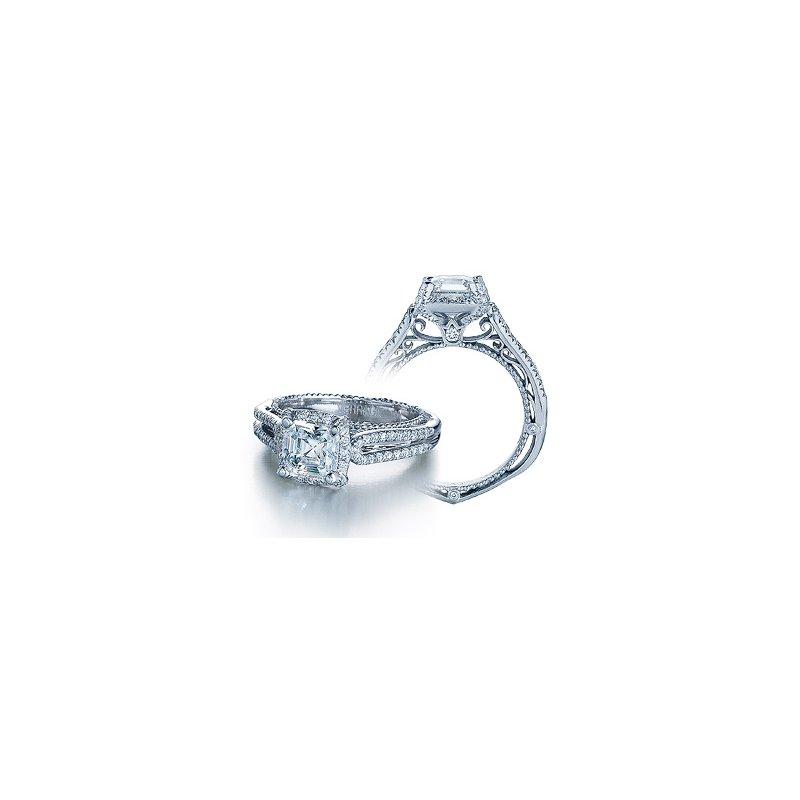 Verragio Verragio Venetian 5016 - 18k White Gold Diamond Engagement Ring by Verragio
