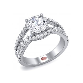 Demarco DW5056 - 18k White Gold Engagement Ring by Demarco