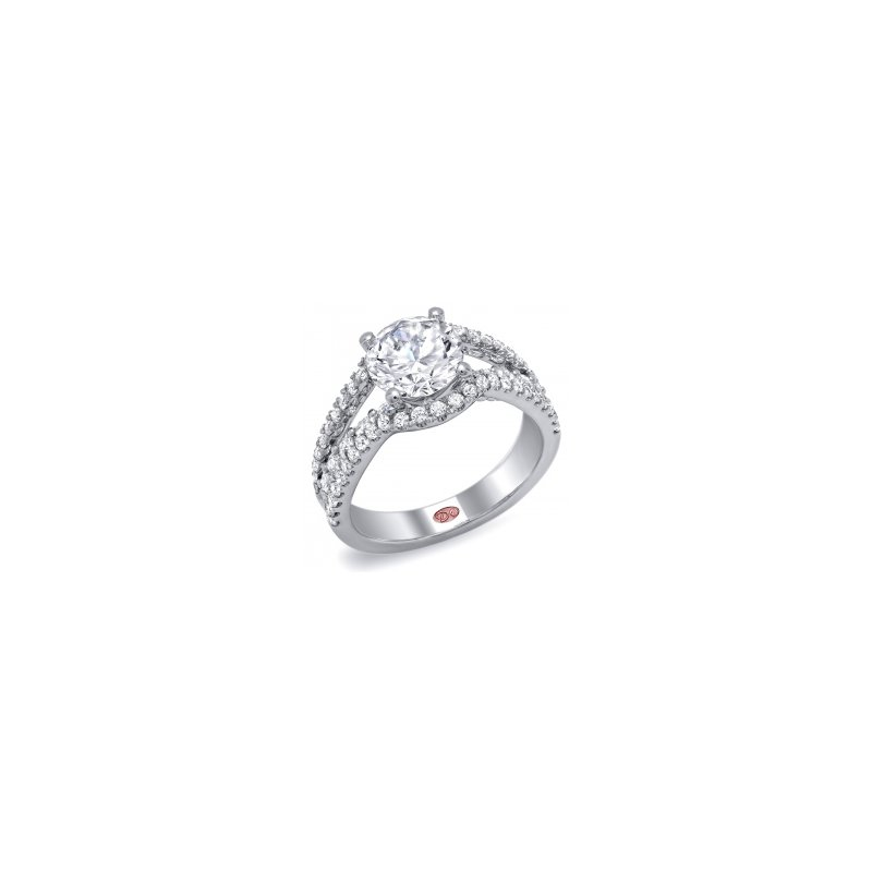 Demarco Demarco DW5056 - 18k White Gold Engagement Ring by Demarco