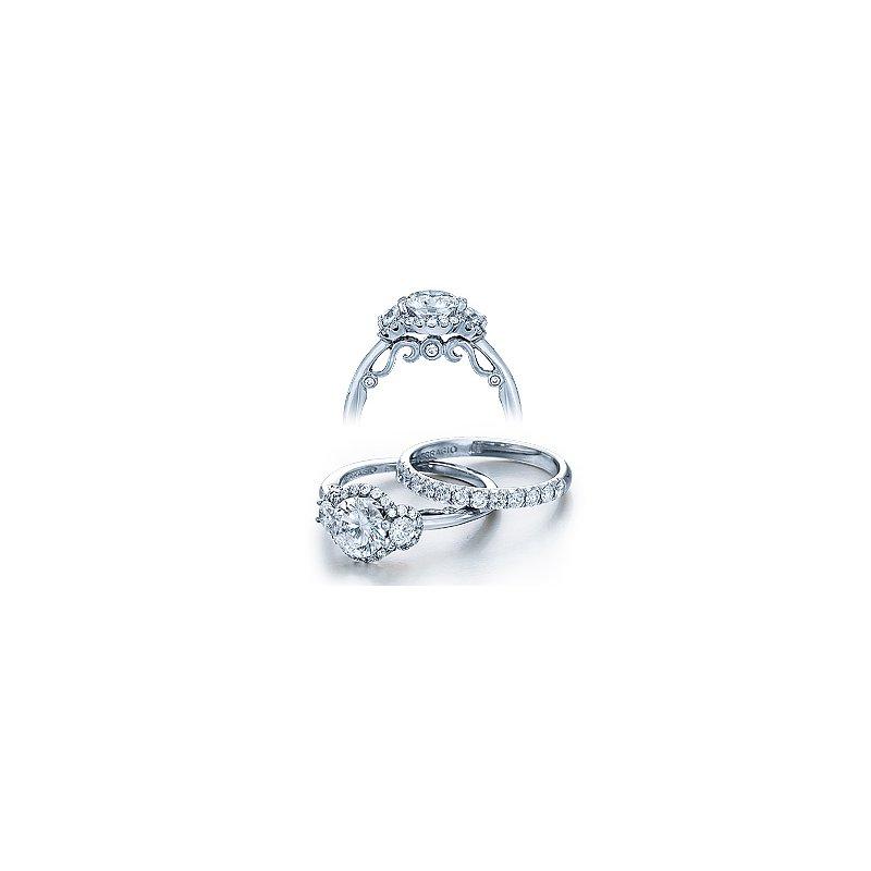 Verragio Verragio Insignia 7049 - 18k White Gold Diamond Engagement Ring by Verragio