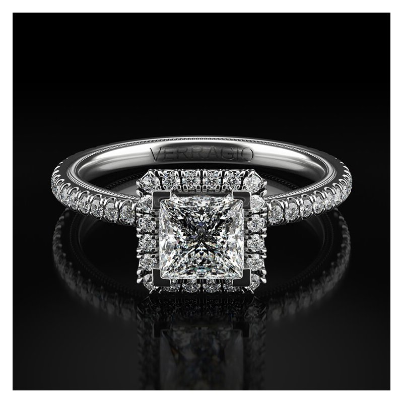 Verragio Verragio Tradition Collection TR120HP Princess Cut Halo Engagement Ring