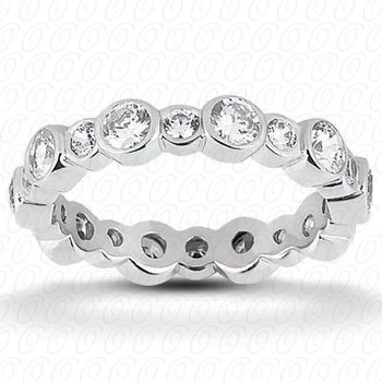 EWB443 Eternity Band Unique Settings
