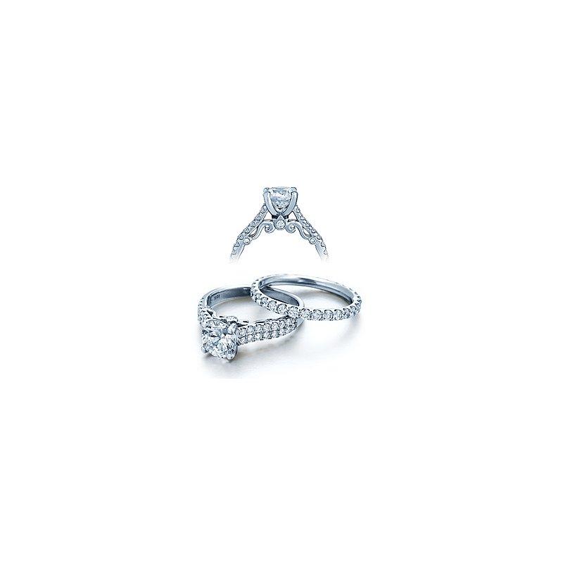 Verragio Verragio Insignia 7035 - 18k White Gold Diamond Engagement Ring by Verragio