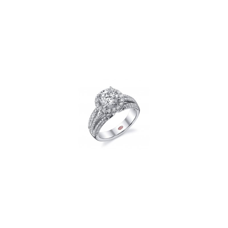 Demarco Demarco DW4740 - 18k White Gold Engagement Ring by Demarco