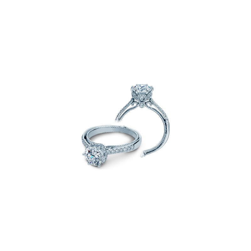 Verragio Verragio Couture-0429RD - 14k White Gold Diamond Engagement Ring by Verragio