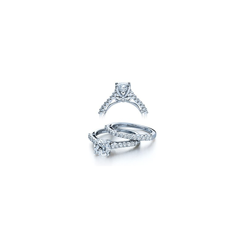 Verragio Verragio Couture 0385S - 18k White Gold Diamond Engagement Ring by Verragio