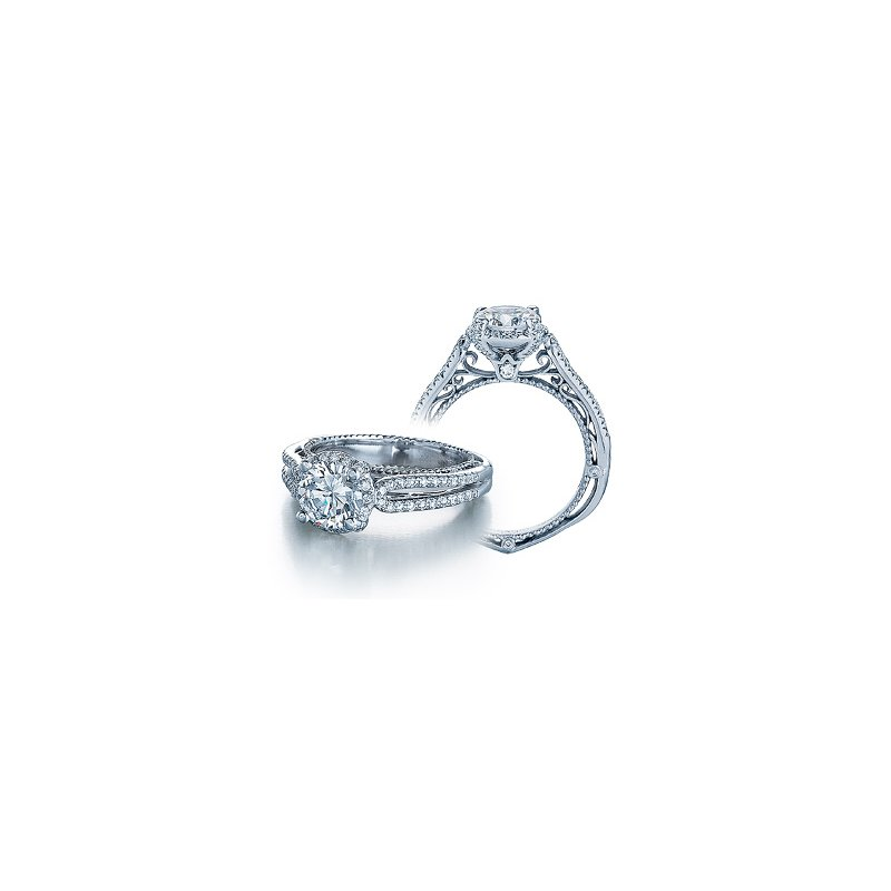 Verragio Verragio Venetian 5014R - 18k White Gold Diamond Engagement Ring by Verragio