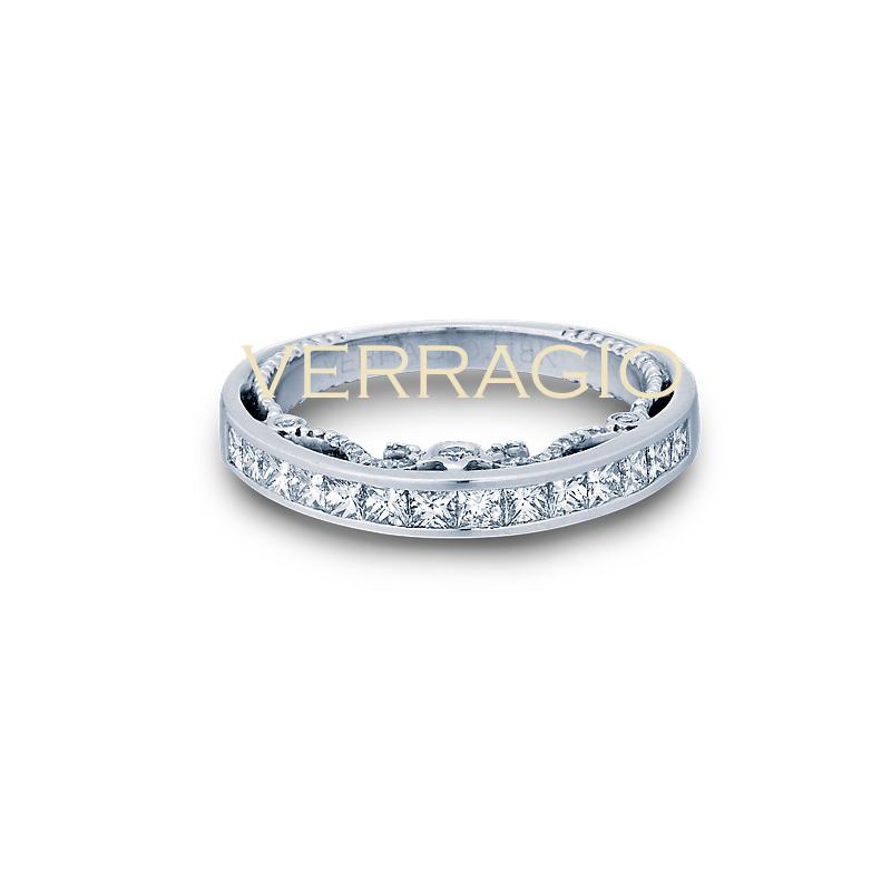 Verragio Verragio Insignia 7064 PW Princess Cut Diamond Wedding Ring