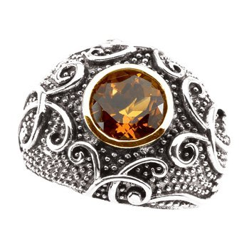 Genuine Madeira Citrine Ring