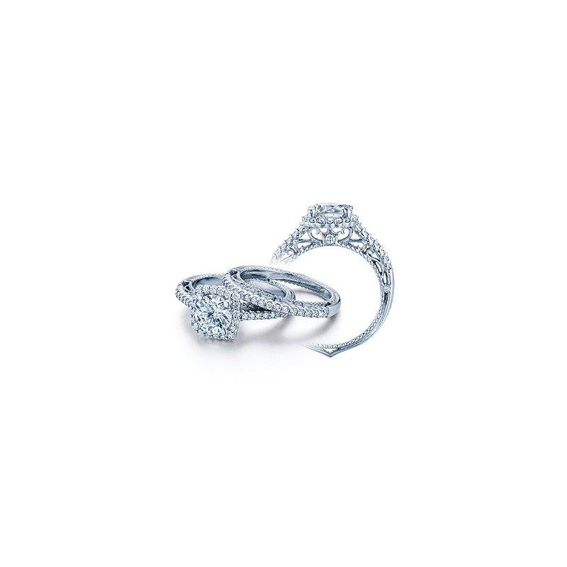 Verragio Verragio Venetian-5022CU - 14k White Gold Diamond Engagement Ring by Verragio