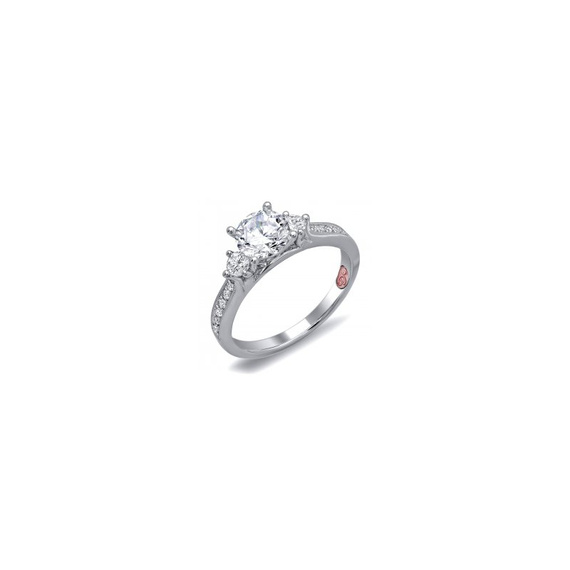 Demarco Demarco DW6097 - 18k White Gold Engagement Ring by Demarco