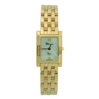 Classique Ladies' Stainless Steel Gold Plated Swiss Quartz Watch - #35695