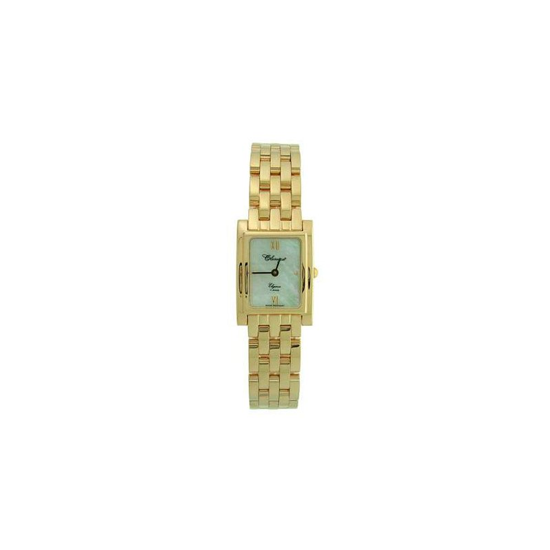 Swiss Watches Classique Ladies' Stainless Steel Gold Plated Swiss Quartz Watch - #35695
