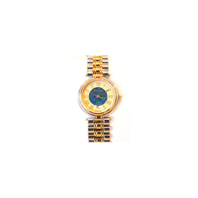 Swiss Watches Classique' Watches Genuine Australian Opal Dial Watch