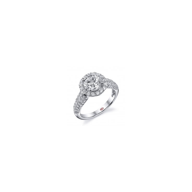 Demarco Demarco DW5455 - 18k White Gold Engagement Ring by Demarco