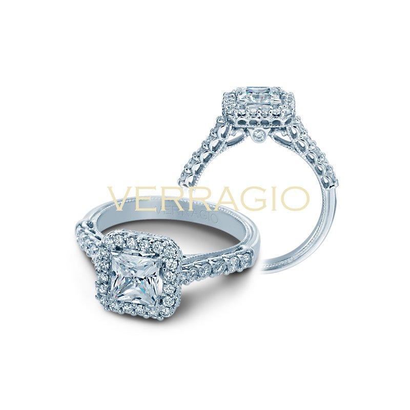 Verragio Verragio Classic V-903-P5.5 - 14k White Gold Diamond Engagement Ring by Verragio