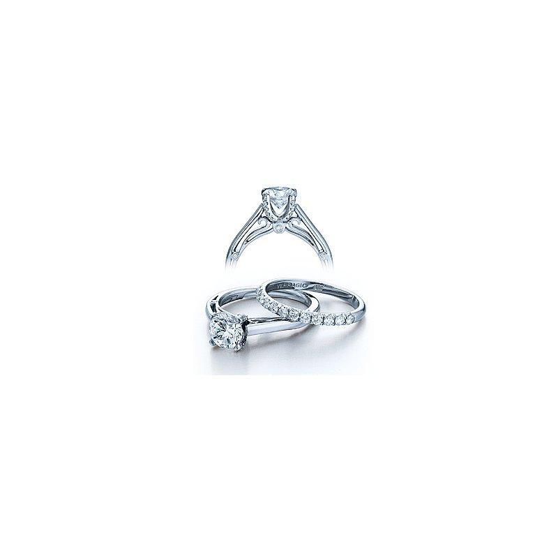 Verragio Verragio Couture 0388 - 18k White Gold Diamond Engagement Ring by Verragio