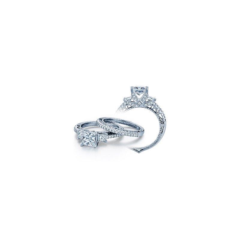 Verragio Verragio Venetian 5023P - 18k White Gold Diamond Engagement Ring by Verragio
