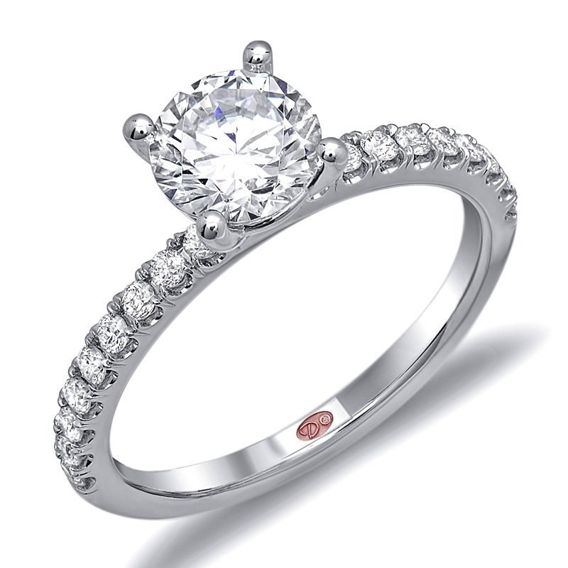 Demarco Demarco DW6013 - 18k White Gold Diamond Engagement Ring