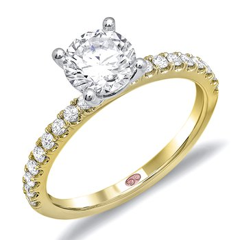 Demarco DW6013 - 18k White Gold Diamond Engagement Ring