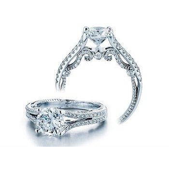 Verragio Insignia 7063 - 18k White Gold Diamond Engagement Ring by Verragio