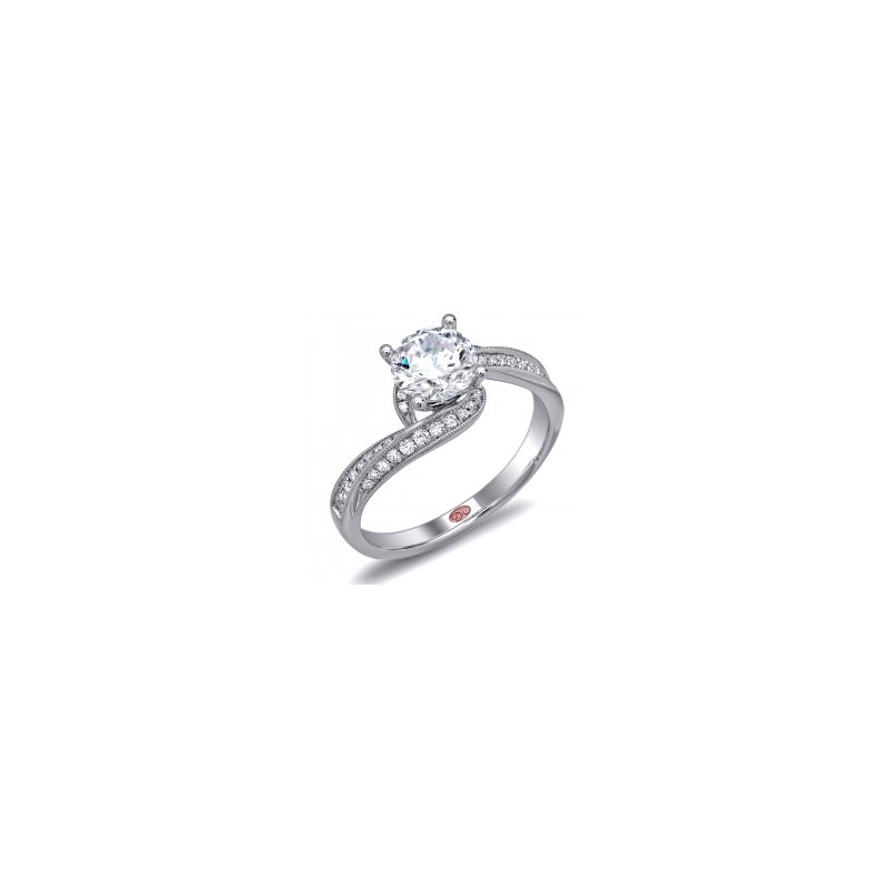 Demarco Demarco DW5696 - 18k White Gold Engagement Ring by Demarco