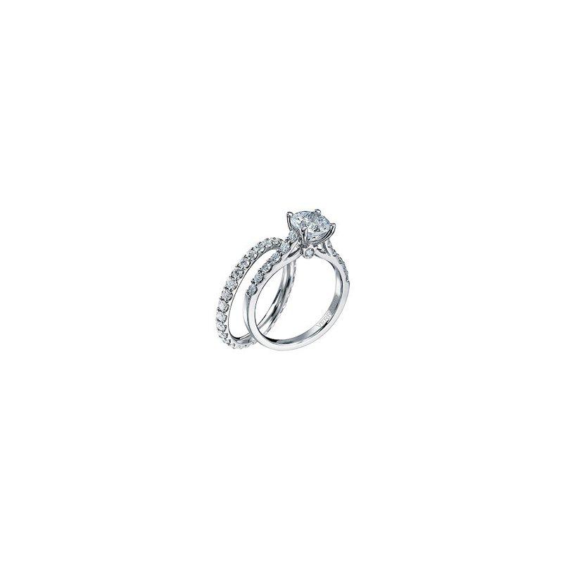 Verragio Verragio Classico-0359 - 14k White Gold Diamond Engagement Ring by Verragio