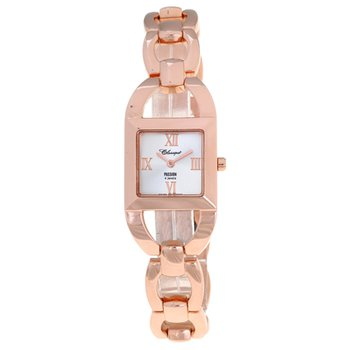Classique' Ladies Stainless Steel Rose Gold Plated Watch - #72-14R