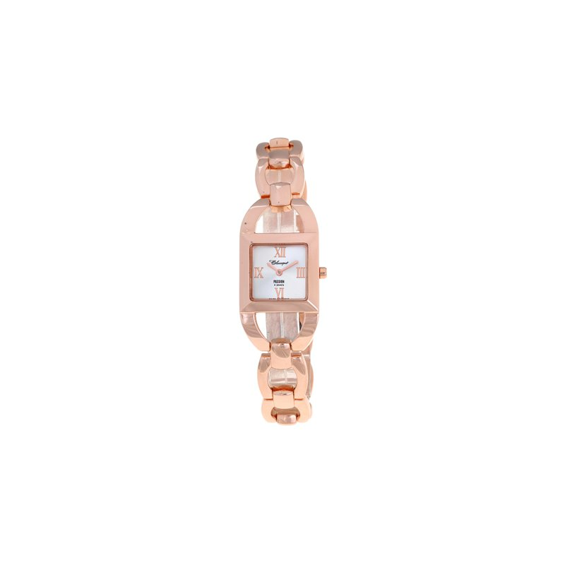 Swiss Watches Classique' Ladies Stainless Steel Rose Gold Plated Watch - #72-14R